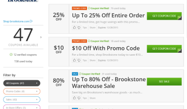 brookstone coupon codes image