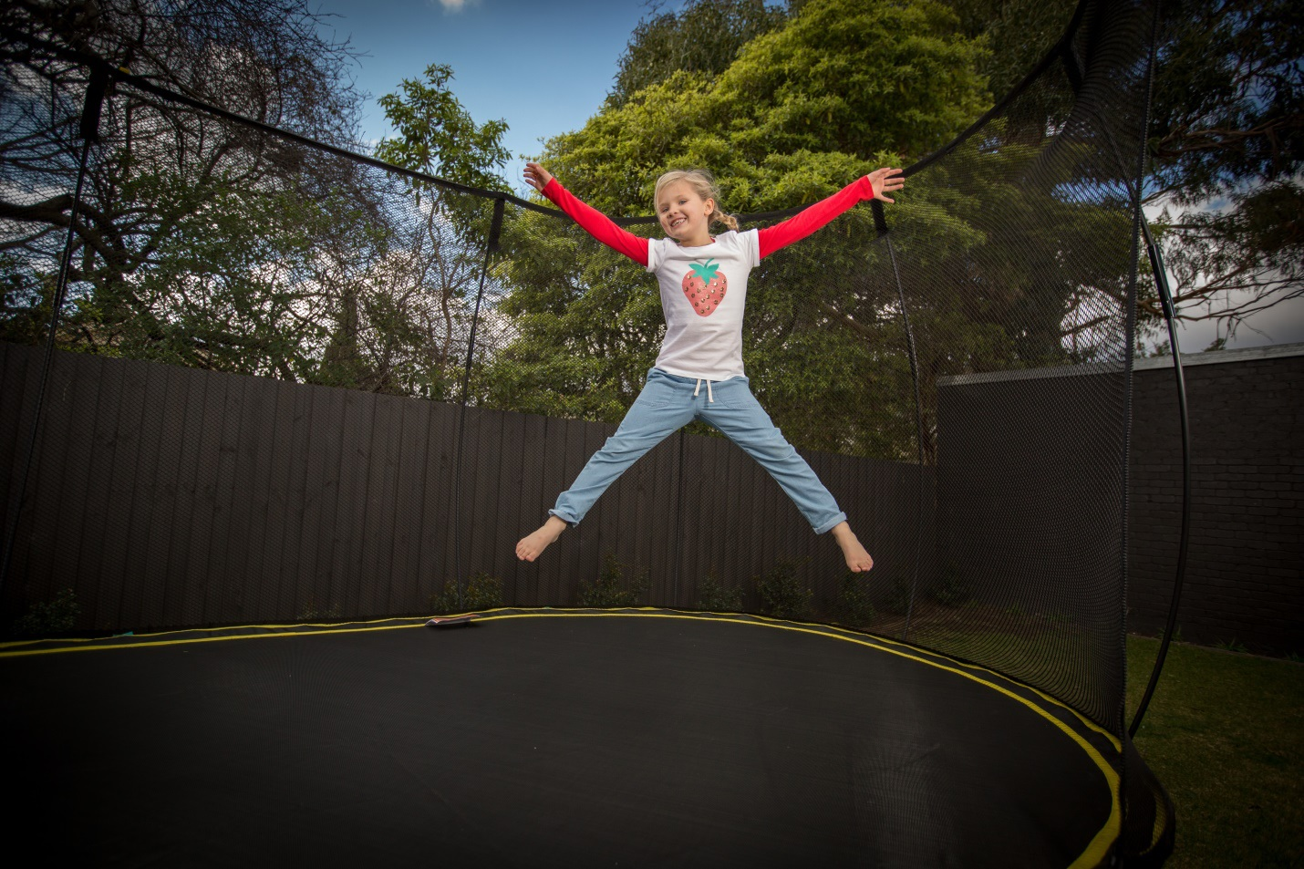 The World's Safest Trampoline makes a great gift...!