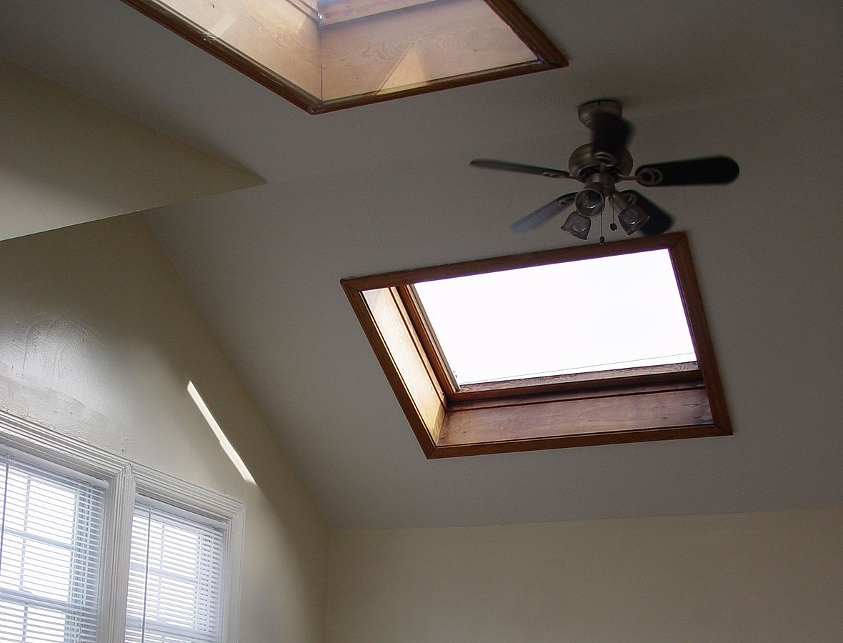 Your Family's Wellbeing can be improved by something as simple as a skylight
