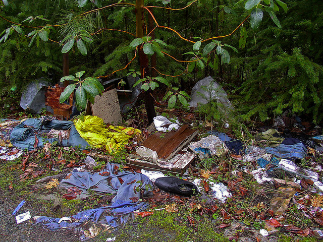 Fly-tipping is a huge problem in the UK
