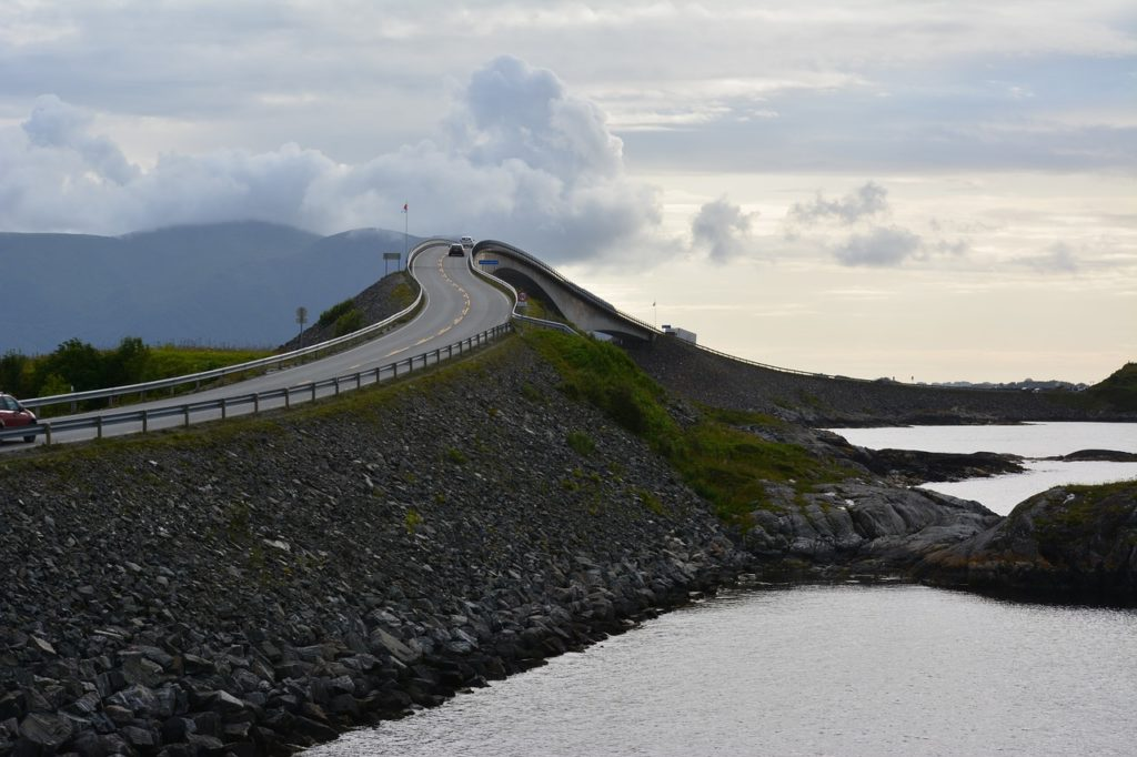 Going on a road trip in Norway is among the Best Adventure Holidays In Europe