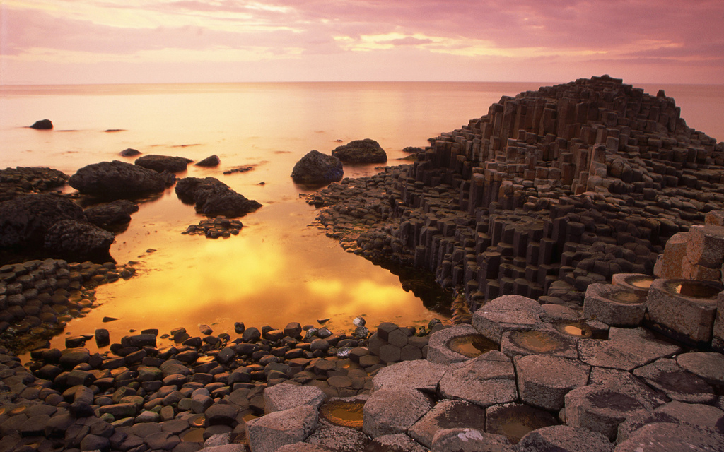 The Giant's Causeway is easily the biggest attraction in Northern Ireland ... photo by CC user pictruer on Flickr