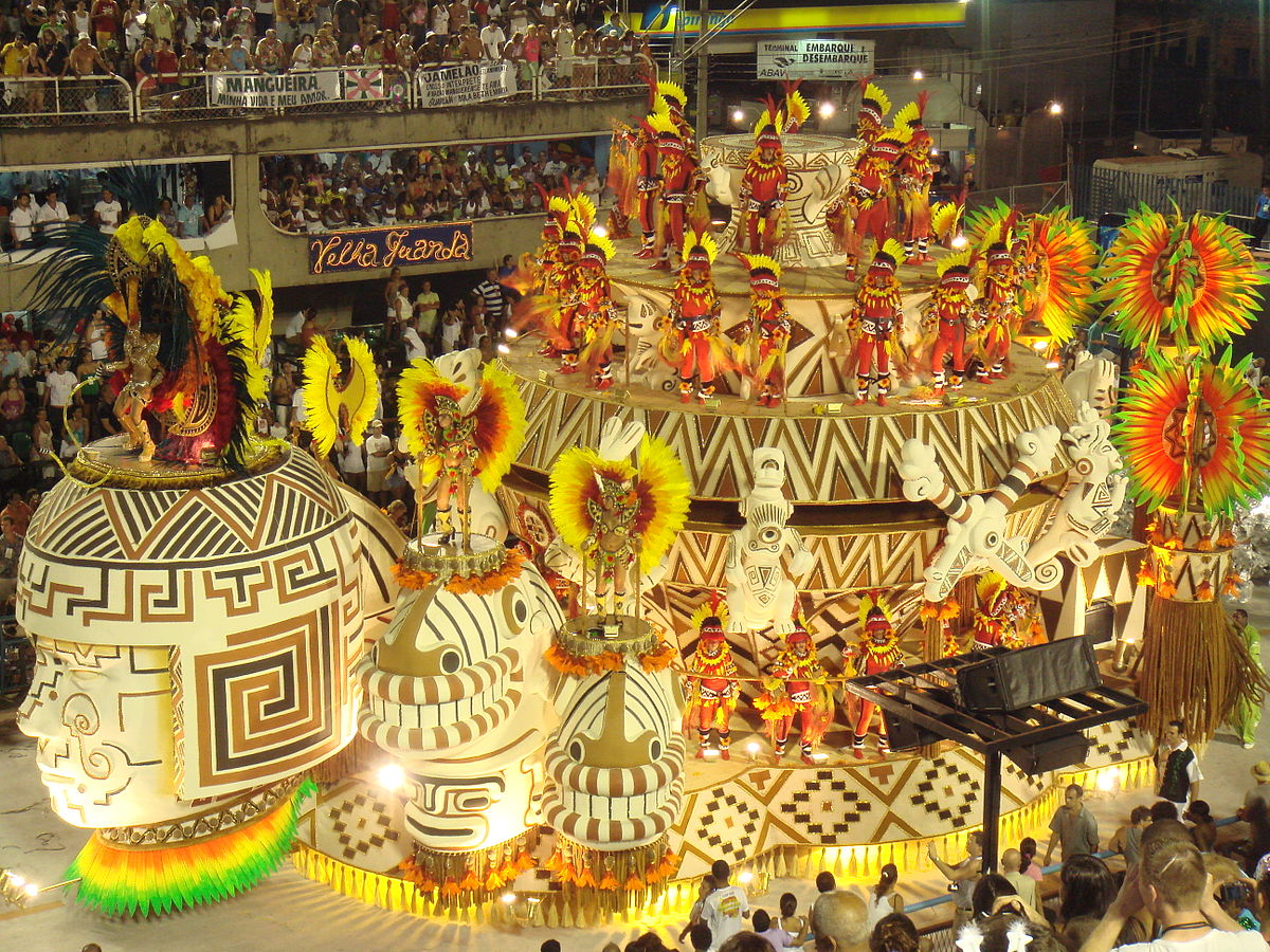 Samba parades are the best part of Carnival in Rio ... photo by CC user Sergio Luiz on Flickr