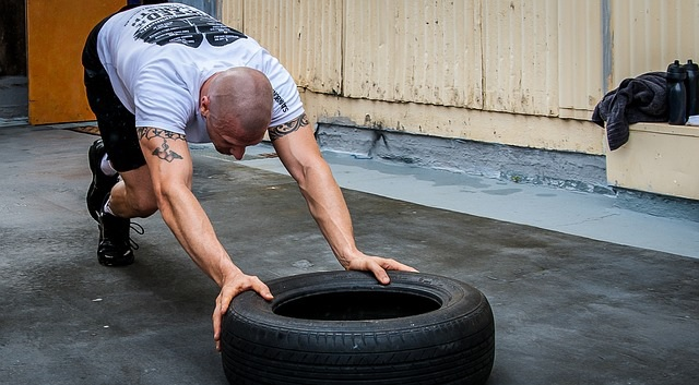 Wondering How to Start Exercising After a Break? Start small. Maybe push a tire if you're keen.